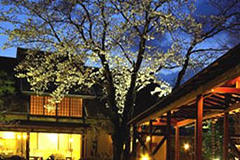 春には桜の美しい「田舎家」