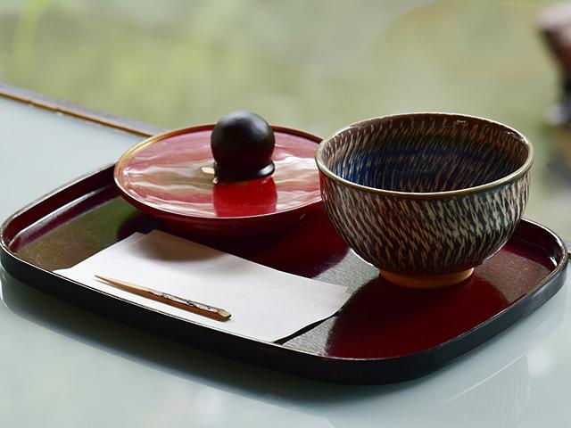 抹茶と和菓子のセット