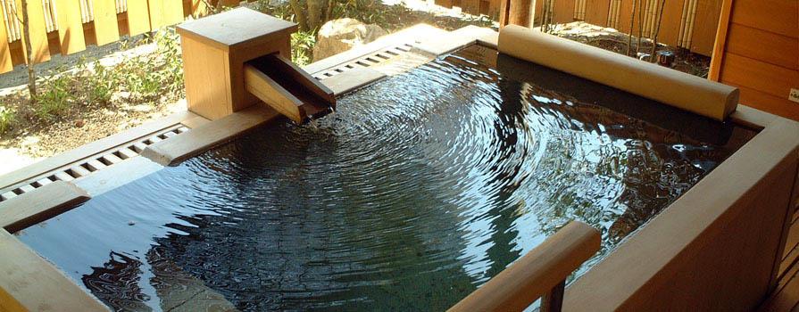 離れ:若竹 露天風呂